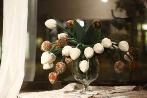 Laimigas tulpes